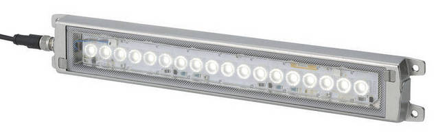 LED Worklight suits food grade and washdown environments.