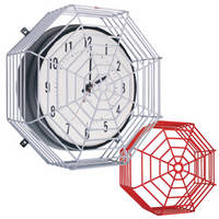 Cage Protects Clocks and Bells