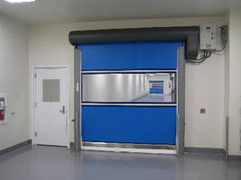 Cleanable Rolling Door targets food and beverage industry.