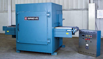 Belt Conveyor Oven reaches temperatures up to 1,250°F.