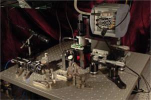 Andor iXon 897 EMCCD Camera Images 4 Bose-Einstein Condensates Simultaneously