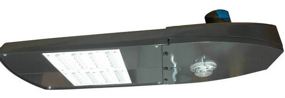 LED Roadway Light features 100,000 hr service rating.
