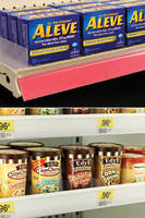 Freestanding Dividers ensure quick shelf setup.
