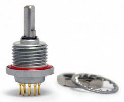Compact Rotary Switch survives harsh, outdoor environments.