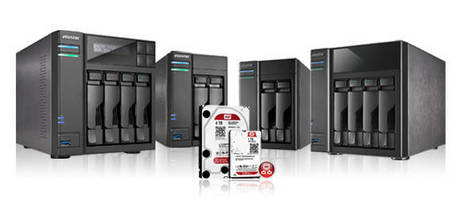 ASUSTOR Announces Compatibility with 3 New WD® Red® NAS Hard Drives