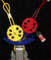 Reusable Cable Lockout eliminates requirement of heavy chains.