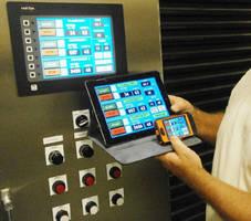 Recipe Controls enable communication with HMI via smartphone.