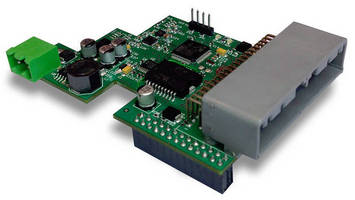 I/O Expansion Card broadens applications for Raspberry PI.