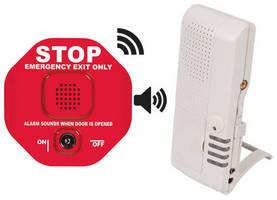 Multifunction Door Alarm increases workplace security.