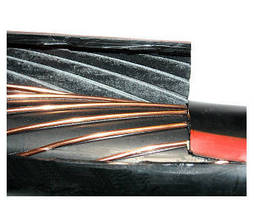 Barrier Compound prevents water from entering cable core.