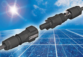 PV Connector System fosters accelerated assembly.