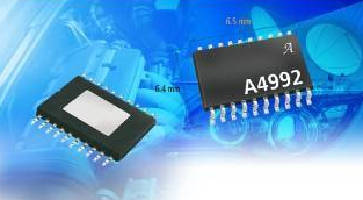 Motor Driver IC includes built-in translator.