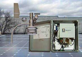Weather Stations target solar energy plants.