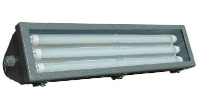LED Rig Light Fixture withstands offshore environment.