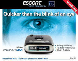 ESCORT Demonstrates All-New MediaFlair Portable WiFi Streaming Accessory and PASSPORT Max HD Radar Detector at Weekend CollegeFest in Boston