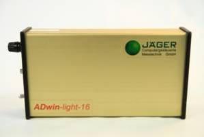 Hydraulic Valve Test Bench Setup Utilizes an ADwin DAQ System