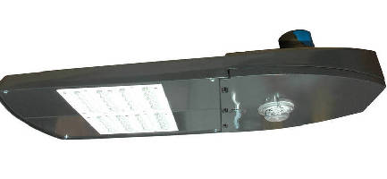 LED Roadway Light replaces 400 W HPS lamps.