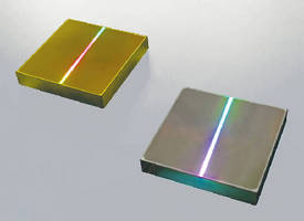 Planar Diffraction Gratings suit laser system applications.