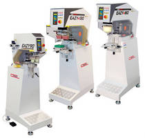 Pad Printers serve textile and general production applications.