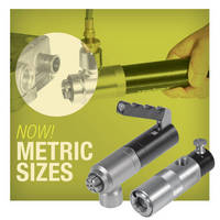 Metric Thread Size Connectors meet international requirements.