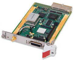 Rugged cPCI Time Code Processor serves critical applications.