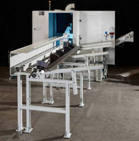 Automatic Circular Saw supports infeed/outfeed options.