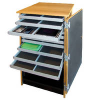Mobile Device Cart offers 4 configurations and syncing.