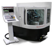 Aspheric Grinding System offers 100 mm dia swing capacity.