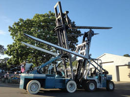 Massachusetts-Based Little River Boat Yard Purchases Marine Travelift M2000s Forklift to Assist with Drystack Storage