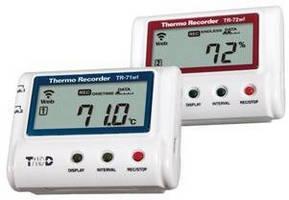 Wireless Multichannel Dataloggers record temperature/humidity.