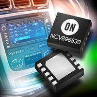 Power Management ICs target automotive applications.