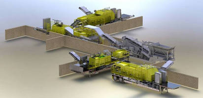 Separation Systems form complete mobile separation plant.