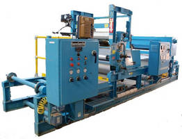 New Pilot Coating Line R&D, Test & Short Runs