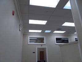 USIS Swaps Out Fluorescent Lighting for MaxLite's LED Troffers