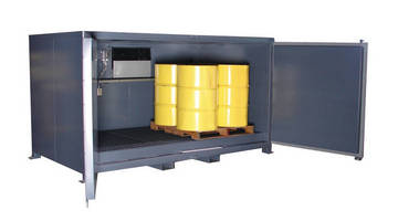 Industrial Husky Cold Boxes and Air Conditioners Offer Economical Alternative to Walk-In Coolers