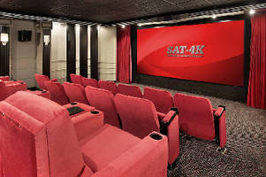 Projection Screens replicate cinema experience.