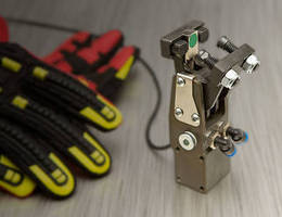 Pneumatic Grippers feature slim-line design.