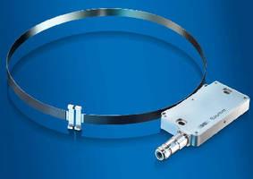Magnetic Belt Encoders fit 11.8 in. to 9.8 ft shaft diameters.