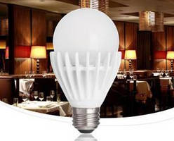 LED Lamp can replace A19 incandescents and spiral CFLs.