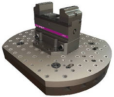 Quick-Change Workholding System allows 5-side part access.