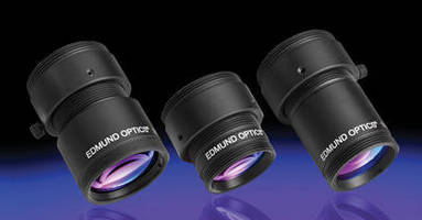 Instrumentation Imaging Lenses offer f-numbers in wide range.