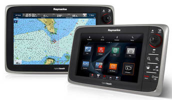 Multifunction Display UI promotes usability and navigation.