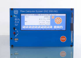 Flow Computer supports natural gas volume conversion.