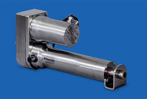 Electric Rod-Style Actuators deliver forces up to 4,500 lb.