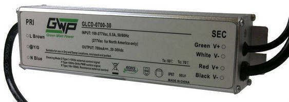LED 30 W Power Supplies integrate 3-way dimming capability.