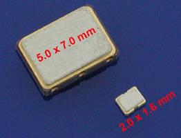 Miniature Clock Oscillator can drive 15 pF load.