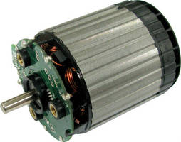 Compact Brushless Motor enhances power tools.