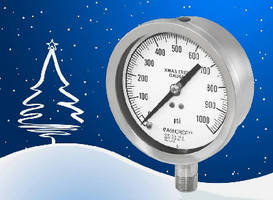 Pressure Gauge withstands harsh operating conditions.
