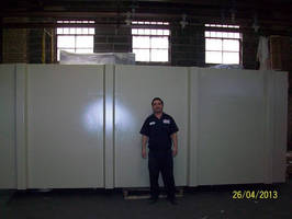 Ace Metal Finishing Successfully Powder Coats Large, 14 Foot Tanks