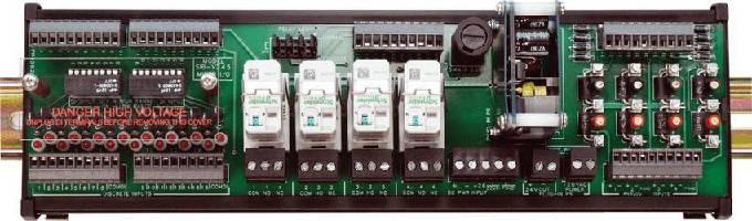 I/O Interface Board complements Motorola RTU I/O module.